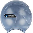 San Jamar R2090TBL Oceans 9 inch Single Roll Jumbo Toilet Tissue Dispenser - Arctic Blue