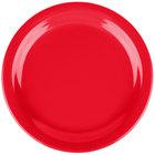 Carlisle 4385405 Red Dayton 7 1/4 inch Melamine Salad Plate - 48/Case