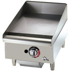 Star Max 515TGF 15 inch Countertop Electric Griddle with Snap Action Thermostatic Controls - 4000 Watts