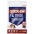 JT Eaton 133N Stick-Em Mouse Size Glue Trap   - 4/Pack