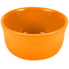 Homer Laughlin 723325 Fiesta Tangerine 24 oz. Gusto Bowl - 6/Case
