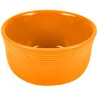 Homer Laughlin 723325 Fiesta Tangerine 28 oz. Gusto Bowl - 6/Case
