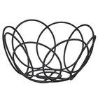 Cal-Mil 22009-13 6 1/2 inch Black Wire Bread Basket