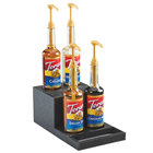 Cal-Mil 3662-13 8 1/2 inch x 15 inch x 6 1/4 inch 2 Step Bottle Riser