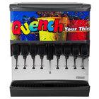 Servend 2705021 SV-200 8 Valve Sanitary Lever Countertop Ice/Beverage Dispenser with 200 lb. Ice Storage