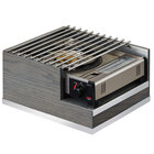 Cal-Mil 3816-83 Ashwood Gray Oak Wood Butane Burner Frame - 14 inch x 12 inch x 7 1/2 inch