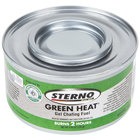 Sterno 20112 2 Hour Green Heat Chafing Dish Fuel - 72/Case