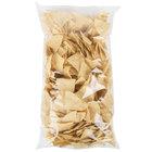 Mission 2 lb. White Triangle Corn Tortilla Chips - 6/Case