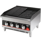 Vollrath 407382 Cayenne 60 inch Medium Duty Charbroiler - 200,000 BTU