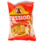 Mission 3 oz. Portion Pack Yellow Round Nacho Chips - 48/Case