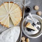 Pellman Pre-Cut Plain Cheesecake