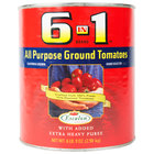 Escalon 6 In 1 Brand #10 Can All Purpose Ground Tomatoes - 6/Case