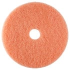 Scrubble by ACS 36-20 20 inch Pink Burnishing Floor Pad - Type 36