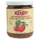 Kime's 17 oz. No Sugar Added Cinnamon Apple Butter Spread - 12/Case