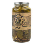Epic Pickles 1 Qt. Garlic Dill Pickles - 12/Case
