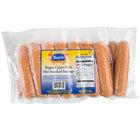 Kunzler Ragin' Cajun 5 lb. Pack Fully Cooked Hot Smoked Sausage - 2/Case