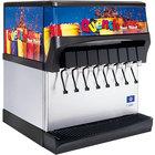 Servend 2705282 CEV-40 8 Valve Post-Mix Sanitary Lever Countertop Beverage Dispenser with Internal Carbonation System