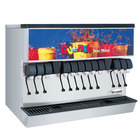 Servend 2705668 MDH-302 12 Valve Sanitary Lever Countertop Ice/Beverage Dispenser with 300 lb. Ice Storage