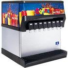 Servend 2705281 CEV-40 8 Valve Post-Mix Push Button Countertop Beverage Dispenser with Internal Carbonation System