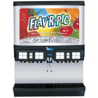 Servend 2705613 FRP-250 Flav'R Pic Ice / Beverage Dispenser with 8 Flavor Shots and Selectable Ice