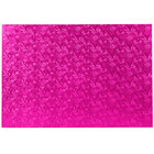 Enjay 1/2-17122512PINK12 25 1/2 inch x 17 1/2 inch Fold-Under 1/2 inch Thick Full Sheet Pink Cake Board - 12/Case