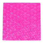 Enjay 1/2-16SPINK12 16 inch Fold-Under 1/2 inch Thick Pink Square Cake Drum - 12/Case