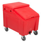 IRP 3110003 Red Ice Caddy 100 lb. Mobile Ice Bin