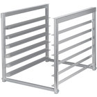 "Regency Table-Mounted Aluminum Bun Pan Rack for 30"" and 36"" Wide Work Tables - 6 Pan Capacity"