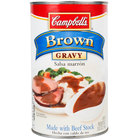 Campbell's 50 oz. Canned Brown Gravy   - 12/Case