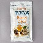 Ken's Foods 1.5 oz. Fat-Free Dijon Honey Mustard Dressing Packet - 60/Case