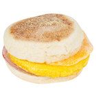 Jimmy Dean 4.1 oz. Canadian Bacon, Egg, and Cheese Muffin Sandwich - 12/Case