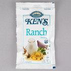 Ken's Foods 1.5 oz. Ranch Dressing Packet - 60/Case