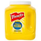 French's 105 oz. Classic Yellow Mustard Jug   - 4/Case