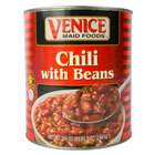 Venice Maid #10 Can Chili with Beans   - 6/Case