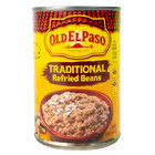 Old El Paso 16 oz. Refried Beans - 12/Case