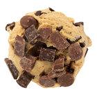 David's Cookies 4.5 oz. Preformed Triple Chocolate Cookie Dough - 22.5 lb.