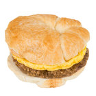 Jimmy Dean 4.8 oz. Sausage, Egg, and Cheese Breakfast Croissant - 12/Case