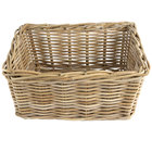 Ash Rectangular Wicker Display Basket - 18