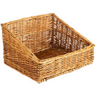 Natural Rectangular Wicker Display Basket - 17