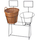 2 Compartment Wire Display Rack - 27 inch x 45 inch