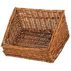 Natural Rectangular Wicker Display Basket - 16