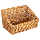 Natural Rectangular Wicker Display Basket - 16