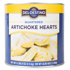 Quartered Artichoke Hearts - #10 Can