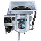 Salvajor S914 Food Scrapper / Waste Collector with Standard Basin - 3/4 hp, 115V