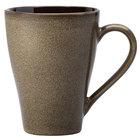 Oneida L6753059506 Rustic 9 oz. Chestnut Porcelain Mug - 36/Case