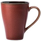 Oneida L6753074506 Rustic 9 oz. Crimson Porcelain Mug - 36/Case