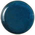 Oneida F1468994151 Studio Pottery Blue Moss 10 5/8 inch Porcelain Round Plate - 12/Case