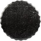 Enjay SW-8RSBEMB 8 inch Black Laminated Corrugated Cake Circle   - 25/Pack