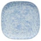Oneida F1463060001 Studio Pottery Cloud 9 7/8 inch Square Porcelain Plate - 12/Case
