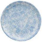 Oneida F1463060132 Studio Pottery Cloud 8 1/2 inch Porcelain Round Plate - 24/Case